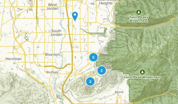 Draper, Utah Forest Map