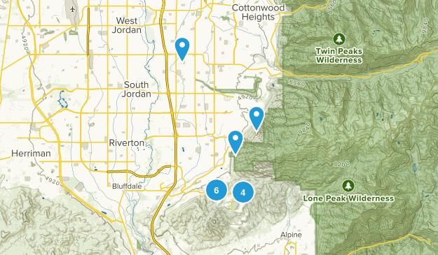 Draper, Utah Kid Friendly Map