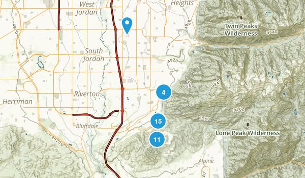 Draper, Utah Walking Map