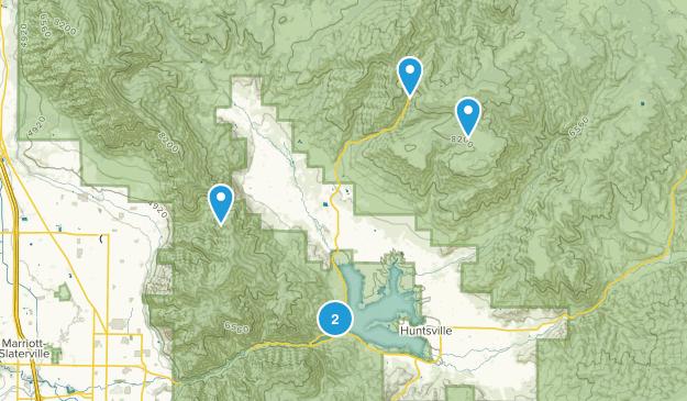 Eden, Utah Birding Map