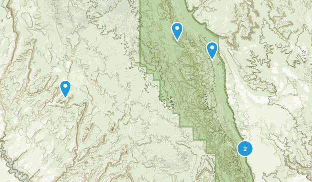 Eggnog, Utah Camping Map