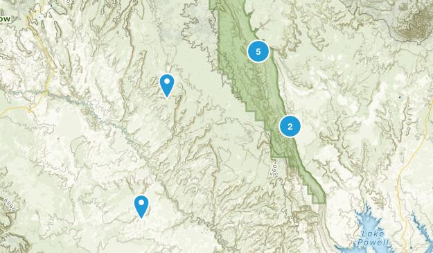 Eggnog, Utah Hiking Map
