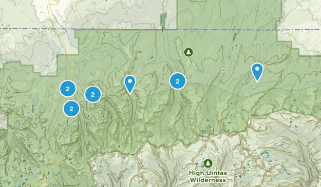 Evanston, Utah Nature Trips Map