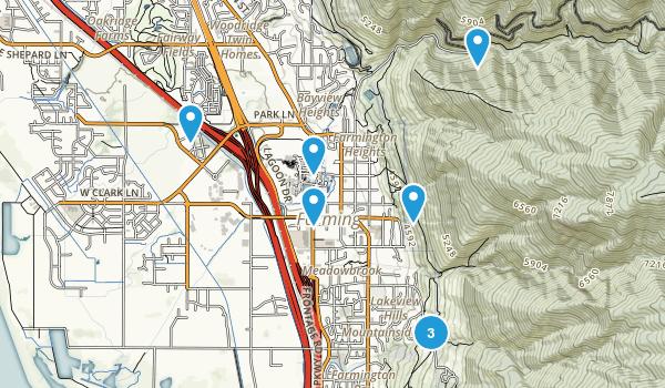 Farmington, Utah Walking Map