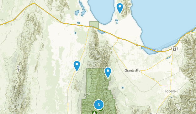 Grantsville, Utah Birding Map