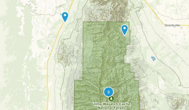 Grantsville, Utah Walking Map