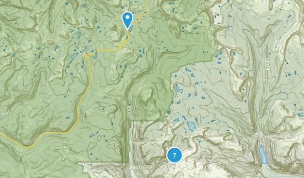 Hanna, Utah Lake Map