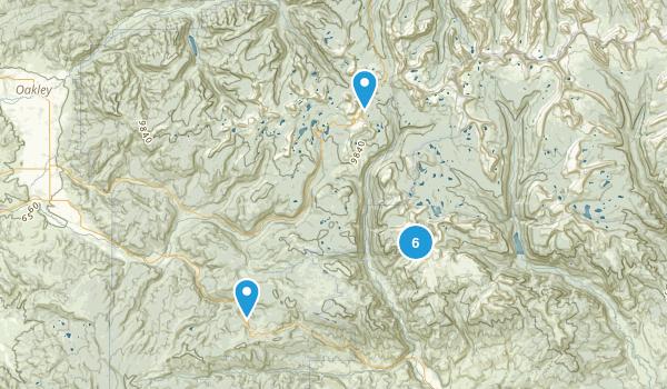 Hanna, Utah Nature Trips Map
