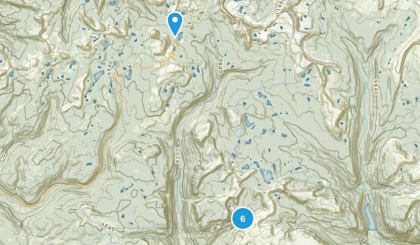 Hanna, Utah Walking Map
