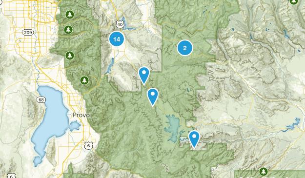 Heber City, Utah Views Map