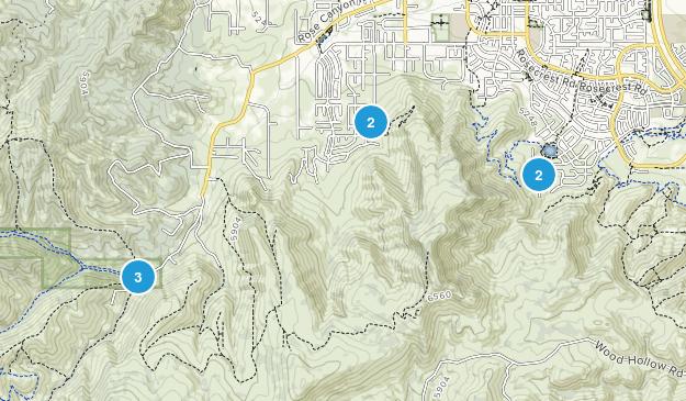 Herriman, Utah Hiking Map