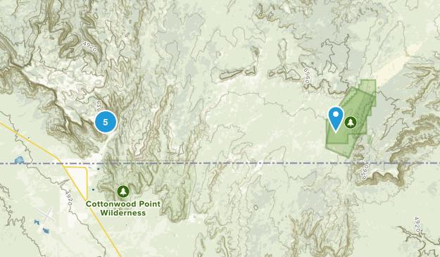 Hildale, Utah Hiking Map