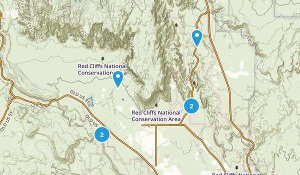 Ivins, Utah Nature Trips Map