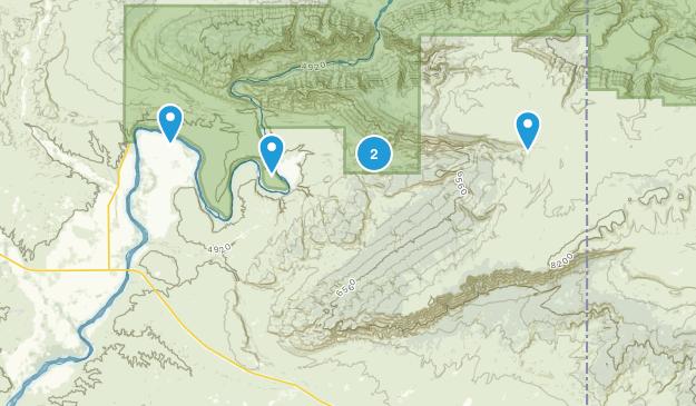 Jensen, Utah Walking Map