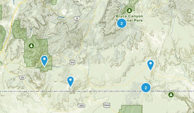 Kanab, Utah Birding Map