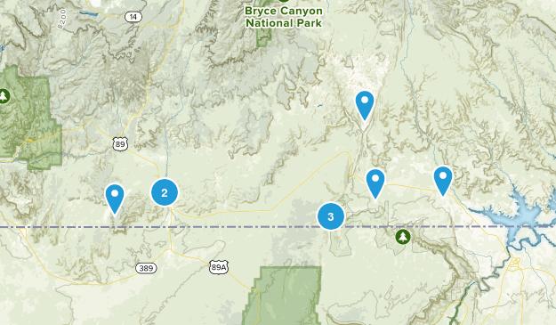 Kanab, Utah Dog Friendly Map