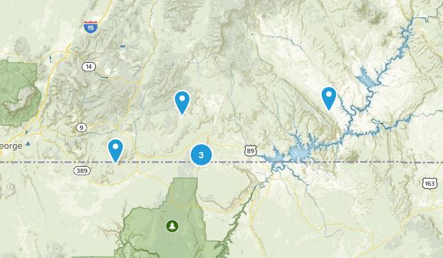 Kanab, Utah Wild Flowers Map