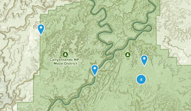La Sal Junction, Utah Views Map