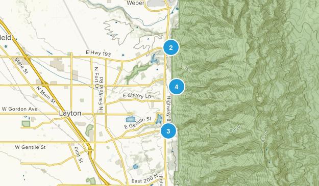 Layton, Utah Views Map