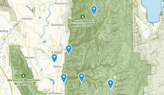 Logan, Utah Fishing Map