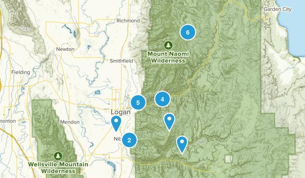 Logan, Utah Walking Map