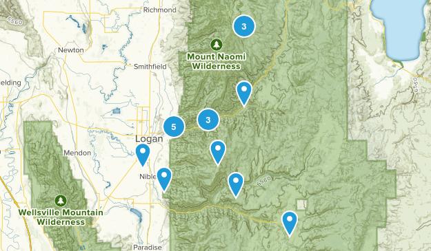 Logan, Utah Wildlife Map
