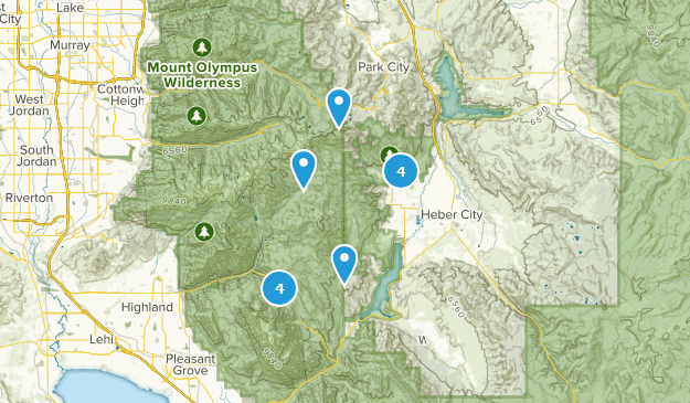 Midway, Utah Bird Watching Map
