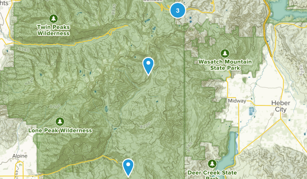 Midway, Utah Dog Friendly Map