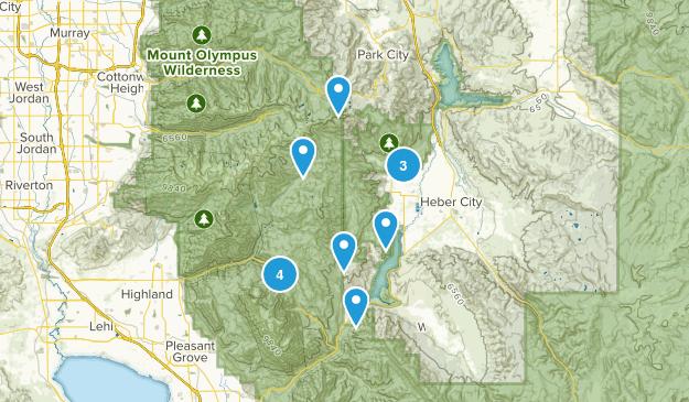 Midway, Utah Views Map