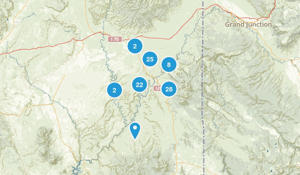 Moab, Utah Walking Map