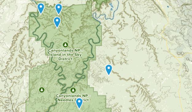 Monticello, Utah No Dogs Map