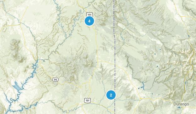 Monticello, Utah Wild Flowers Map