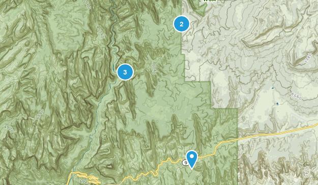 Mount Carmel, Utah Walking Map