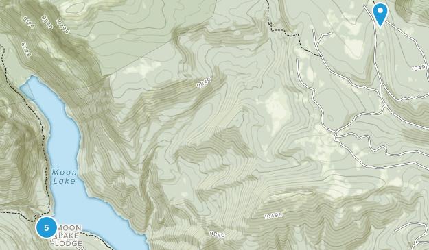 Mountain Home, Utah Camping Map