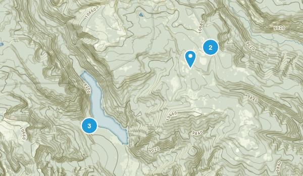 Mountain Home, Utah Fishing Map