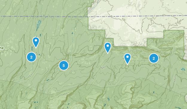 Mountain View, Utah Lake Map