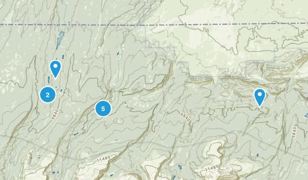 Mountain View, Utah Nature Trips Map