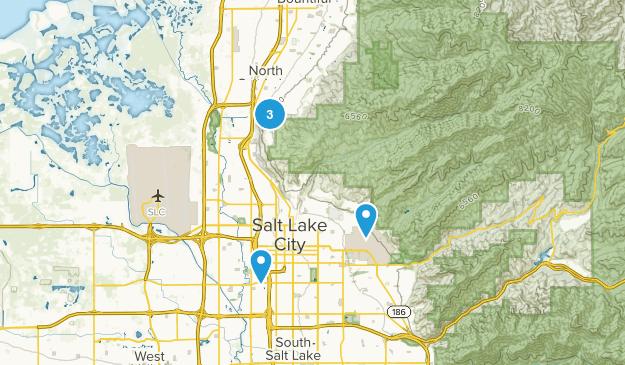 North Salt Lake, Utah Nature Trips Map