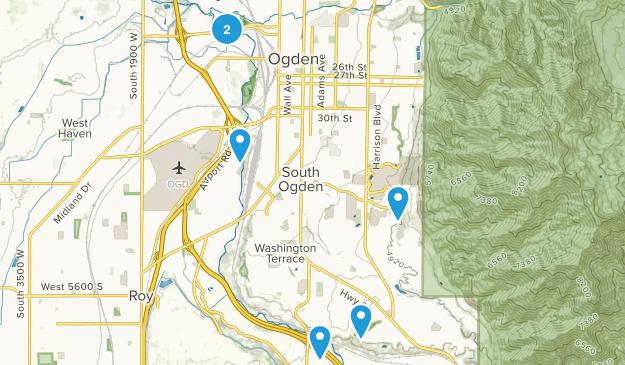 Ogden, Utah Wheelchair Friendly Map