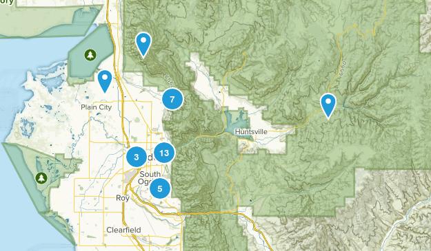 Ogden, Utah Dogs On Leash Map