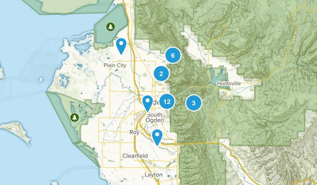 Ogden, Utah Mountain Biking Map