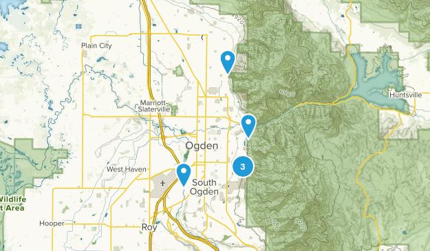 Ogden, Utah Rock Climbing Map
