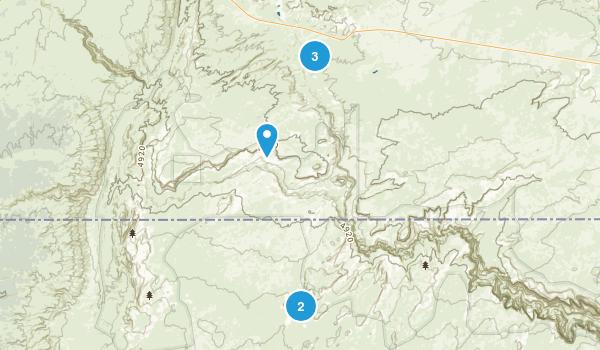 Paria, Utah Hiking Map