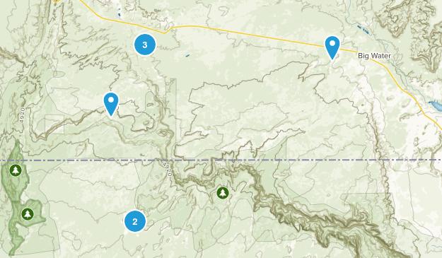 Paria, Utah Views Map