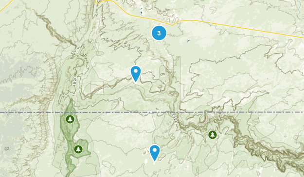 Paria, Utah Walking Map