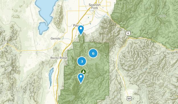 Payson, Utah Birding Map