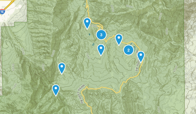 Payson, Utah Hiking Map