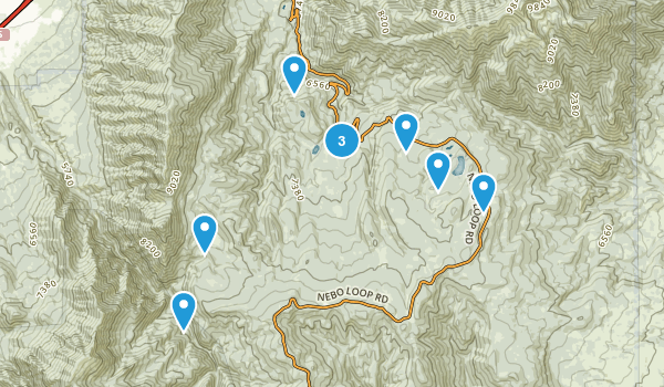 Payson, Utah Horseback Riding Map