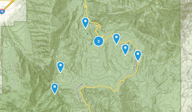 Payson, Utah Horseback Riding Map