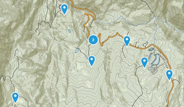 Payson, Utah Mountain Biking Map